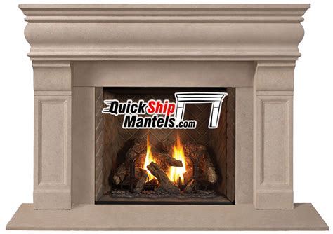 Cast Stone Fireplace Surrounds Fireplace Decorating Ideas