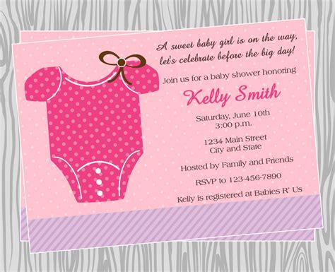 Diy Baby Shower Invites - diy baby onesie baby shower invitation coordinating
