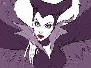 Angelina Jolie - Maleficent by andersonmahanski on DeviantArt