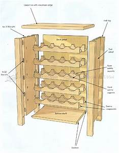 Wine Rack Table Plans • WoodArchivist