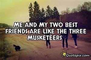 3 Best Friends Quotes. QuotesGram