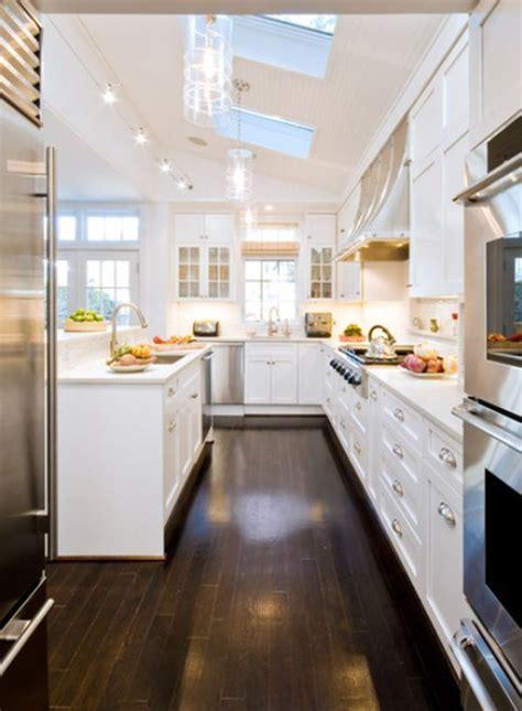 best 25 long narrow kitchen ideas on pinterest