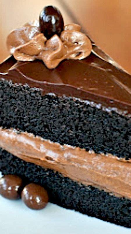 chocolate mousse cake ideas  pinterest triple
