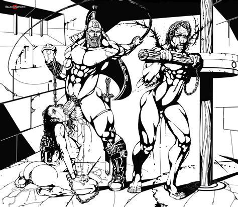 Slavery Is Harsh By Blacksword Hentai Foundry