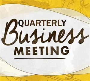 Quarterly Business Meeting – Calvary Baptist Church