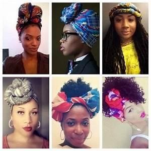 Tete A Coiffer Afro : hair challenges id es coiffure cheveux cr pus attach foulard aka headwrap ~ Melissatoandfro.com Idées de Décoration