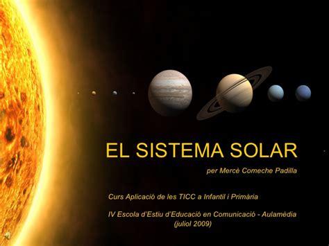 els planetes sistema solar