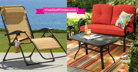 60 sonoma patio furniture free today only