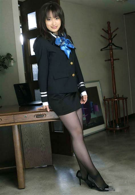 Japan Hot Sexy Stewardess Costume ~ World Stewardess Crews