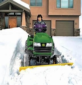 Schneeschieber Für Rasentraktor : schneer umen leicht gemacht mein sch ner garten ~ Jslefanu.com Haus und Dekorationen