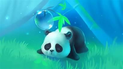 Panda Cartoon Widescreen