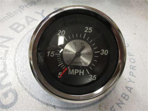 Boat Speedometer by 67283f New Marine Boat Speedometer Speedo 3 1 4 Quot Black