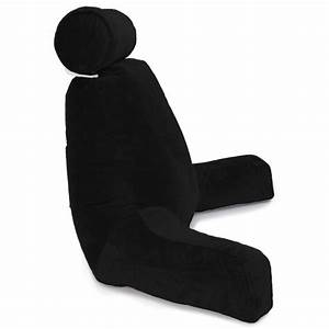 husband pillow bedrest reading support bed backrest with With black backrest pillow