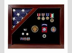 Colonial Shadow Box For Smaller Flagmilitary shadow box