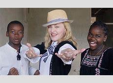 Madonna deja los problemas atrás y disfruta de todos sus