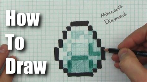 draw minecraft characters  graph paper howstoco
