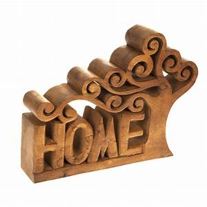 large wooden tree home letters sign word ornaments home With decorative wooden letters for home