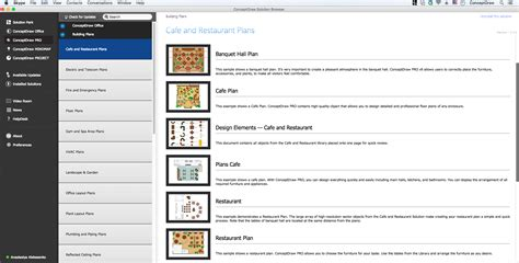 floor plan design freeware for mac home design cool cafe floor plan design software free for