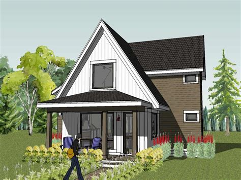 Small Modern Cottage House Plans Small Modern Beach House