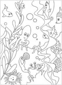 HD wallpapers free under the sea coloring pages to print