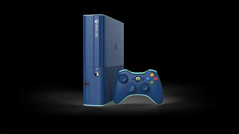 new xbox 360 console 2014 you can get this blue xbox 360 in a call of duty bundle