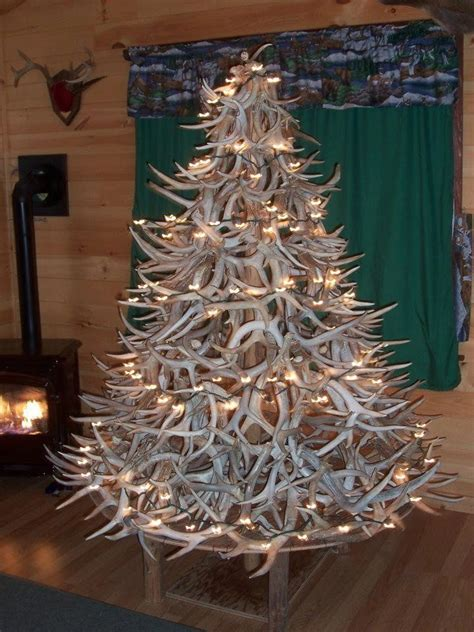 10 shed antler christmas trees to get you in the festive