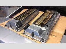 Bmw e38 740i valve cover refinish DIY YouTube