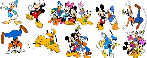 Images Of Disney Characters Collage Clipart Disney Character Pencil And In Color