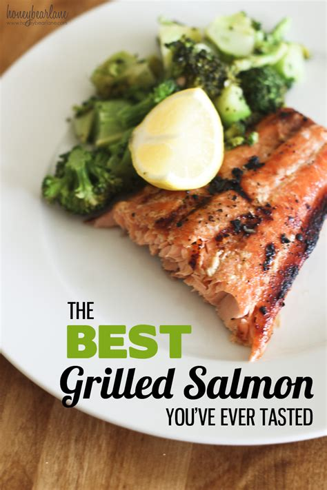 how to bbq salmon the best grilled salmon recipe ever honeybear lane
