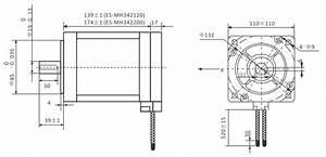Leadshine Nema 42 Easy Servo Motor  3 Phase  2 832 Oz