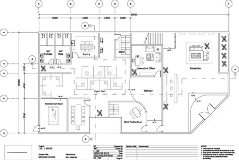 Interior Floor Plans by Quantum1980 Interior Design 1 Soho Small Office Home
