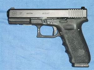 Glock 37 with Robar grip reduction and Nite sig... for sale