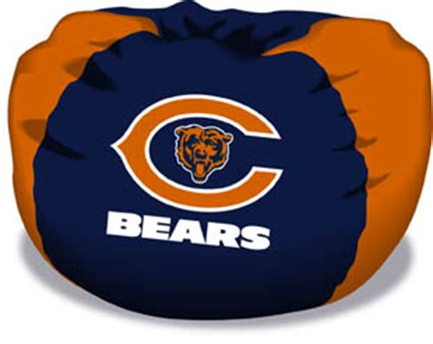 chicago bears bean bag chair by northwest