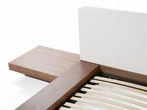 Bett Holz 180x200 : massives designer bett japan style 180x200 cm holz bett walnuss braun mit lattenrost ~ Eleganceandgraceweddings.com Haus und Dekorationen