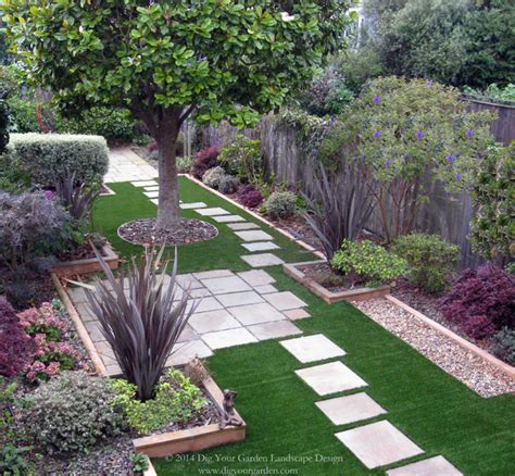 small san francisco back landscape contemporary garden