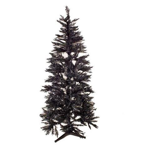 black christmas tree 2m 6 5ft slimline spruce