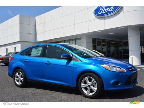 2014 Ford Focus Sedan by 2014 Blue Ford Focus Se Sedan 109391000 Gtcarlot