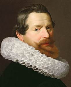Portrait Of A Man Wearing A Ruff Painting by Dutch School