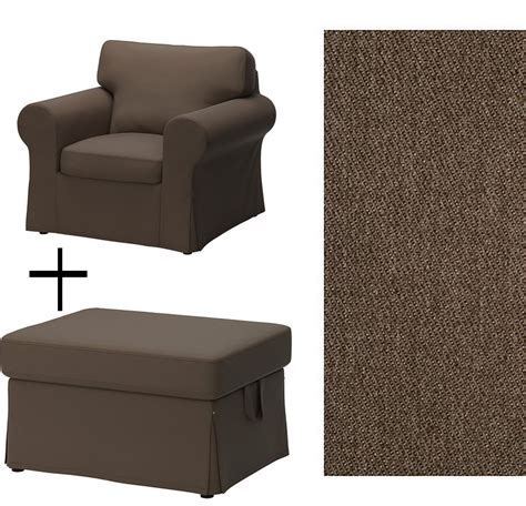 slipcover for chair and ottoman ikea ektorp armchair and footstool covers slipcovers