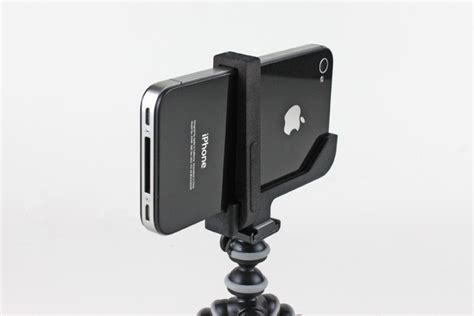 iphone tripod mount the glif tripod adapter for iphone gets addons the next web