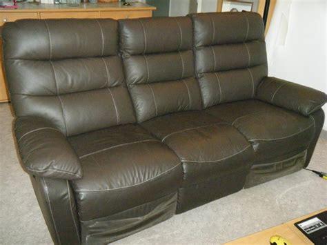 troc canapé troc echange canapé relaxation électrique en cuir sur
