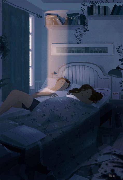 husbands illustrations beautifully capture  cozy