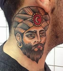 Tatouage Cou Homme : tatouage briko tattoo les oeuvres d 39 un salon pas comme ~ Nature-et-papiers.com Idées de Décoration