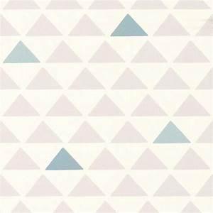 Papier Peint Rose Et Gris : papier peint triangle bleu gris 51145701 de la ~ Dailycaller-alerts.com Idées de Décoration