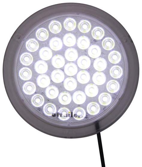 led dome lights led interior trailer dome light 39 diode white housing