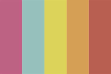 jams colors 80s jam color palette