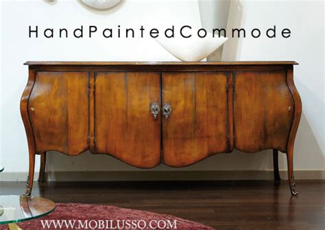 Italian Sideboards And Buffets by Luxury Italian Painted Bombe Chest Traditional
