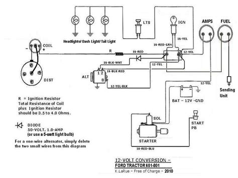 Ford Tractor Wiring by Tractor Wiring Diy Ford Tractors Tractors Ford