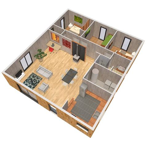 plan chambre feng shui verticama construction de maison en bois massif maison