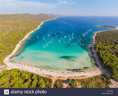 View Of Beach At Adriatic Sea Stock Photos And View Of Beach